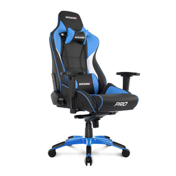 pro gaming chairs uk chair covers for thanksgiving akracing masters series black blue ln92372 ak image 1