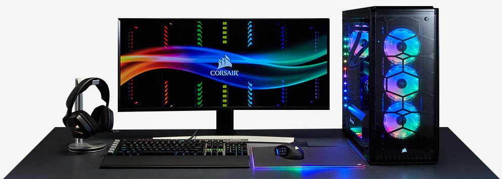 Build it beautiful with Corsair gaming accessories  SCAN UK
