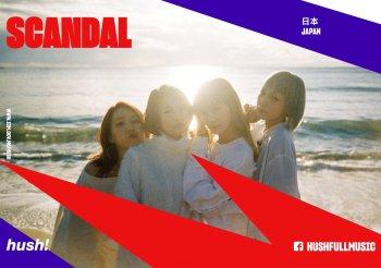 Premier concert à l'étranger en 2019 pour SCANDAL et ce sera….A Macao !