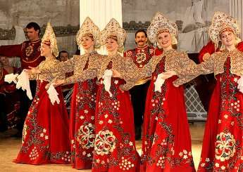 russian folklore show at