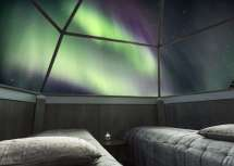Glass Igloo Hotel Northern Lights