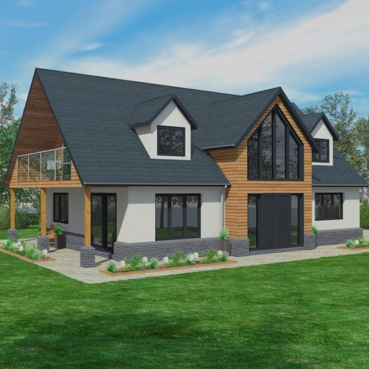 Bungalows Timber Framed Home Designs Scandia Hus