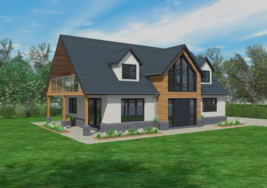 The Cranbrook Timber Framed Home Designs Scandia Hus