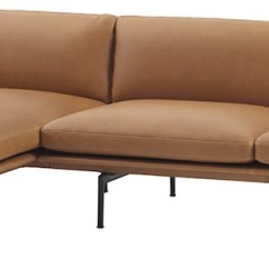 Cleaning Leather Sofa Cushions Repairs Redditch Muuto - Canapé Outline Chaise Longue – Anderssen & Voll