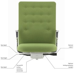 Office Chair Leans Forward Where To Buy Cushions Id Air Task - Vitra