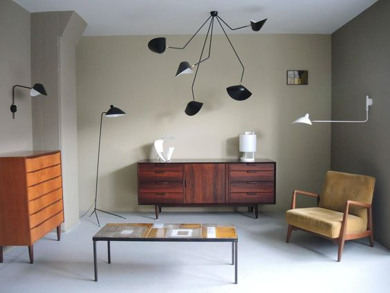 Serge Mouille Ceiling Lamps