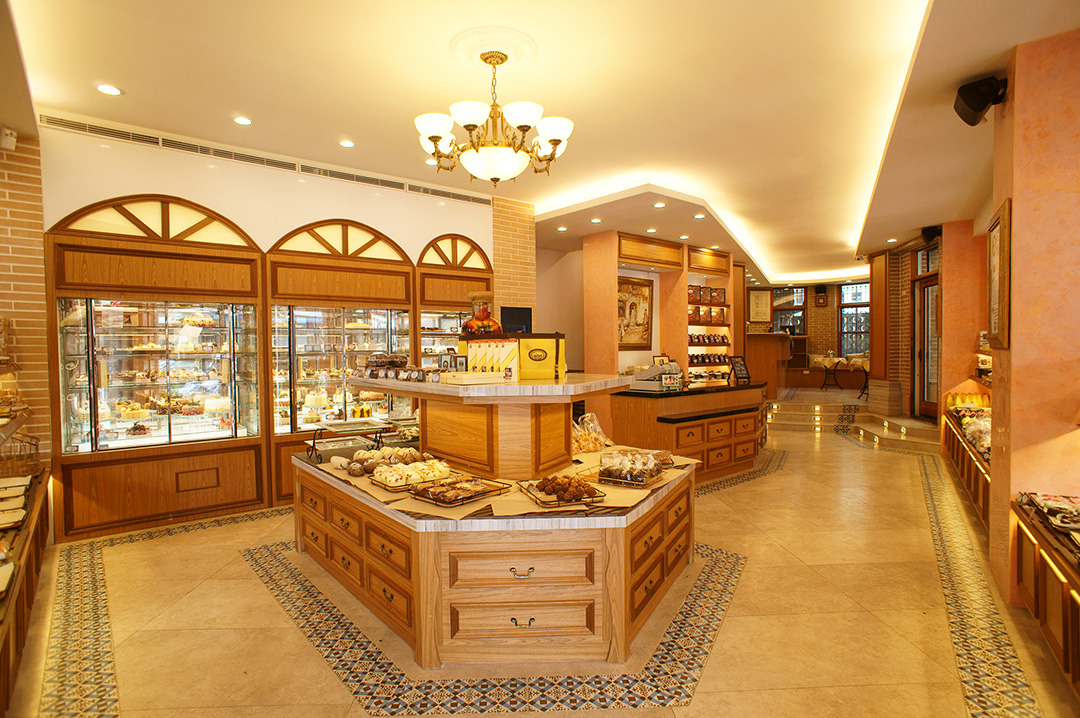Bakery Interior Design