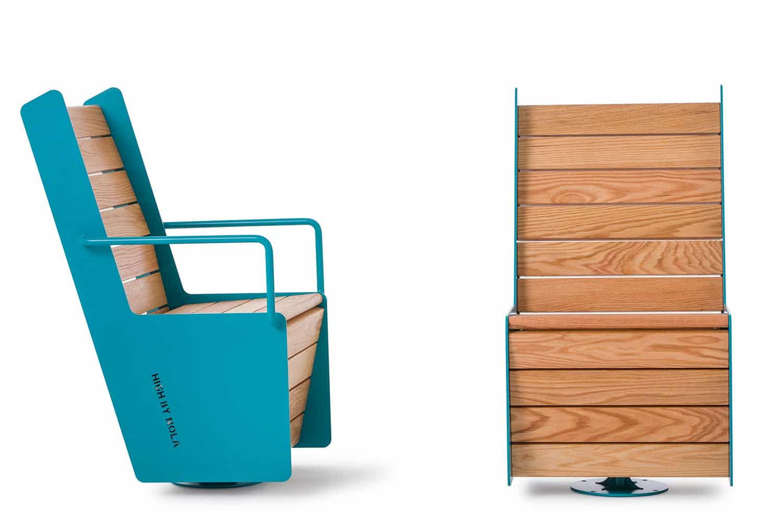 swivel chair mat fisher price fish high  nola scandinavian design