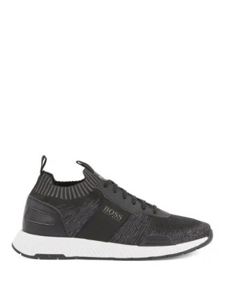 Hugo Boss Titanium Run Shoes Black