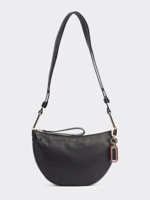 Tommy Hilfiger Statement Pure Leather Bag Black