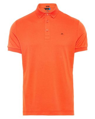 J.Lindeberg Stan Polo Shirt Red