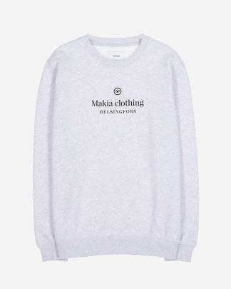 Makia Horizon Sweatshirt Grey