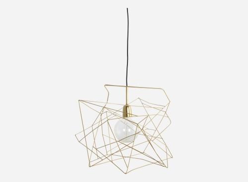 Lampa / abażur Asymmetric House Doctor + sznur z oprawką