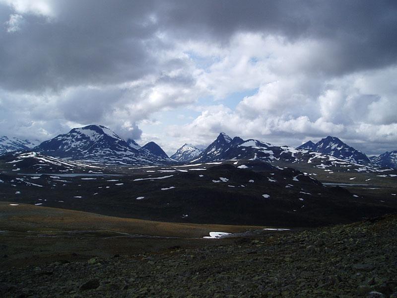 Scandinavian Mountains  Rauddalen Area