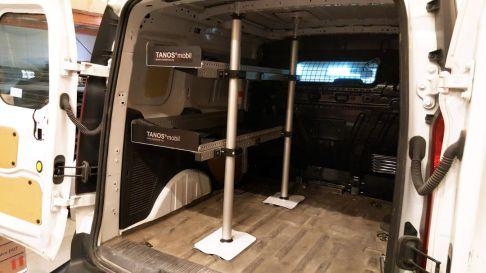 Bilinnredning TANOS mobil S-1260 i Ford Connect