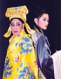 華大東亞訪問學者專案計劃VEAP 邀請臺灣歌仔戲「歡喜扮戲團」聖路易藝博館演出