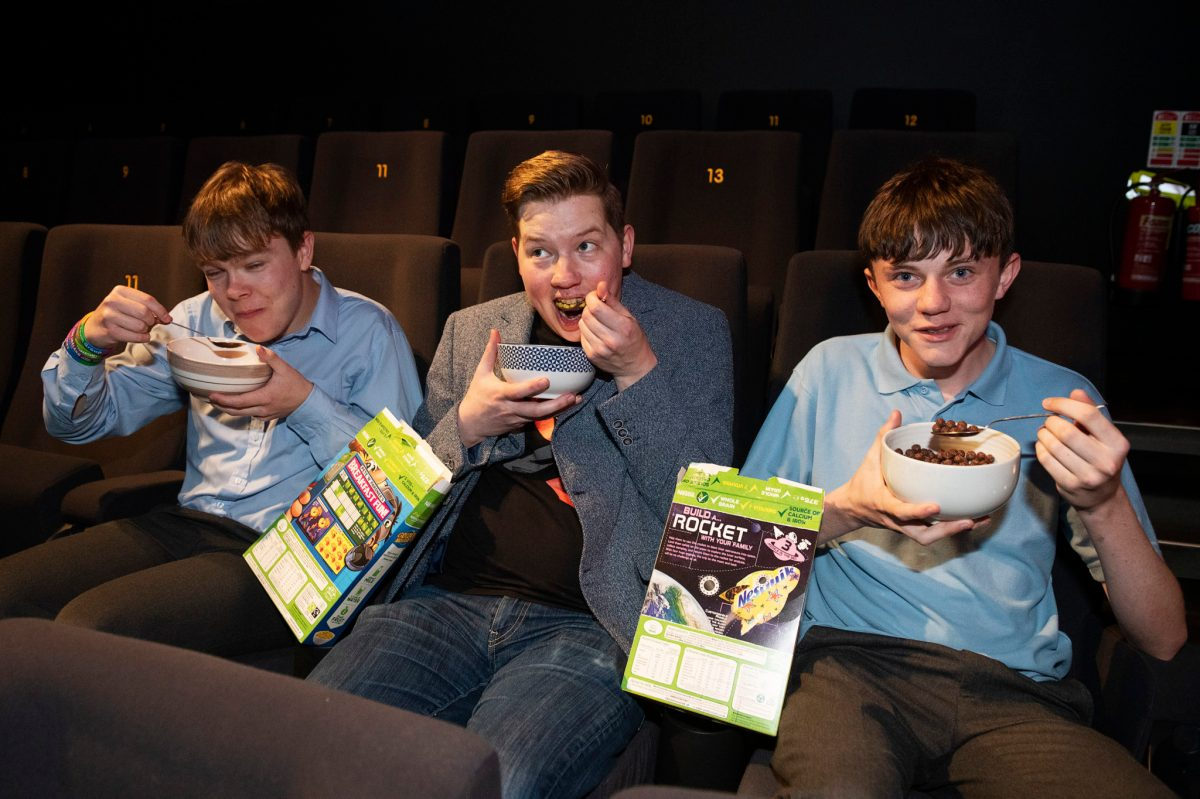 Programme Director Will Fitzgerald gets ready for the 14th Junior Film Fleadh in Galway