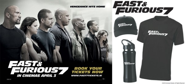 Fast & Furious 7 Competition Pack