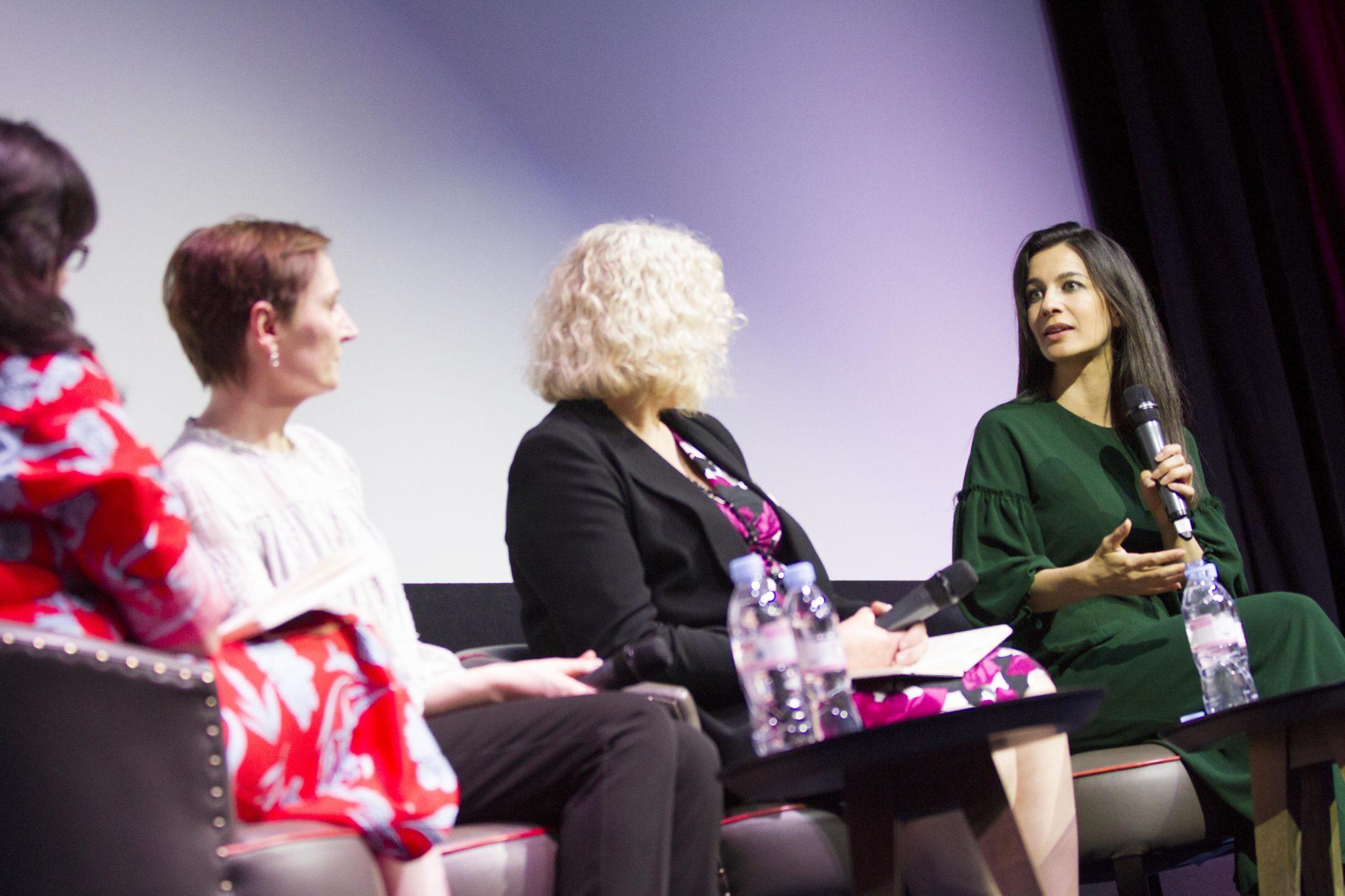 Helen O'Hara, Nora Twomey, Anne Morrison and Yalda Hakim