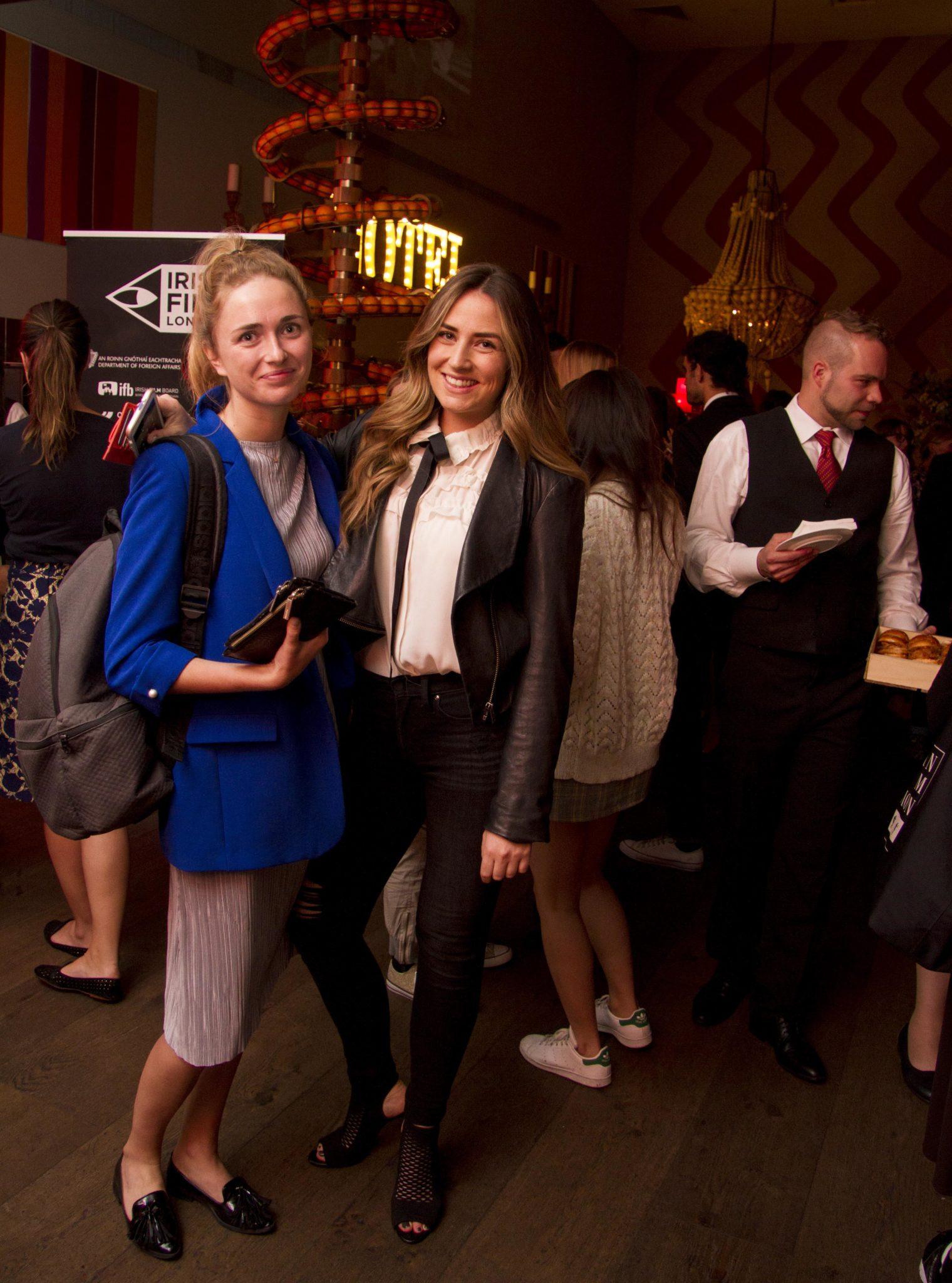 Niamh Buckley and Emilie Quinn