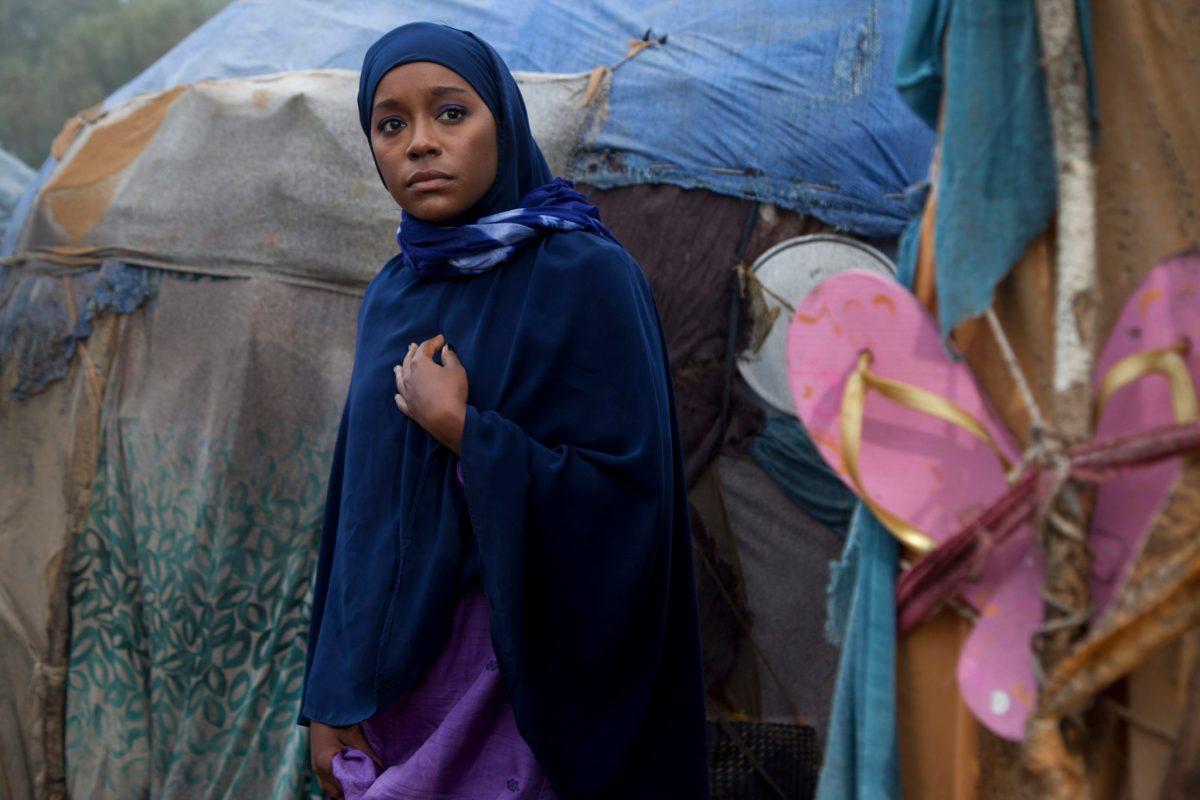 Aja Naomi King as Ifrah AhmedPhoto credit: Seamus Murphy