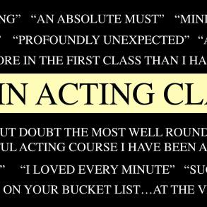 Acting Classes with Terry McMahon