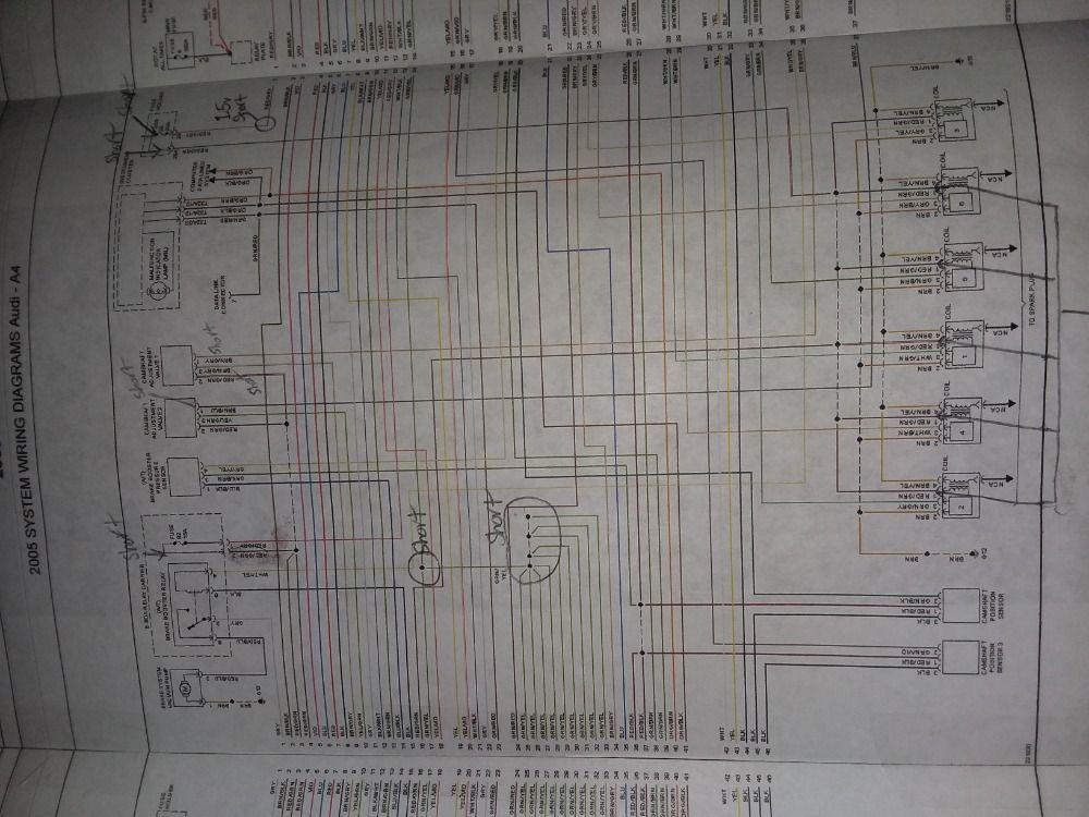 Audi A4 B6 Ecu Wiring Diagram