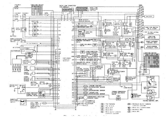 95 nissan sentra wire diagram  wiring diagrams options huge
