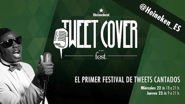 Heineken Tweet Cover Fest o cómo convertir un tweet ingenioso en abono de festival