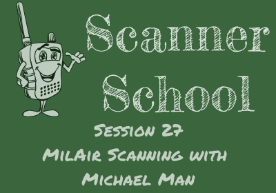 MilAir Scanning with Michael Man