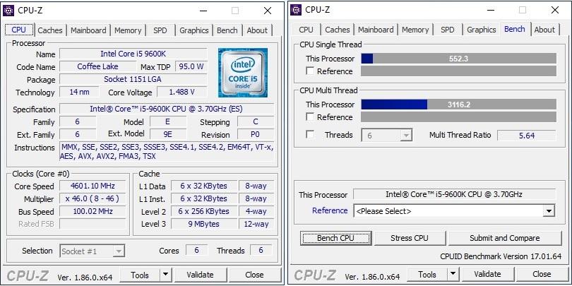 intel s i9 9900k