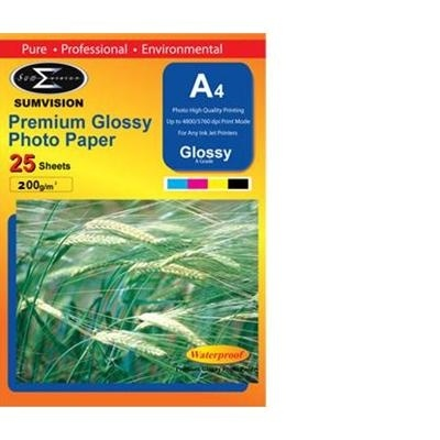 Scanstation Glossy Photo Paper 200gsm A4 25 Pack