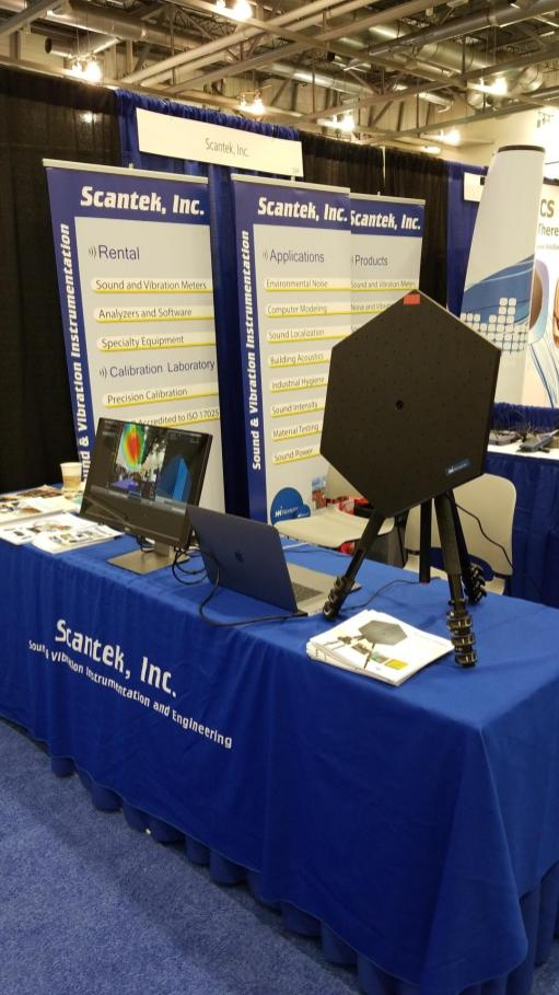 Scantek Booth - SAE 2019
