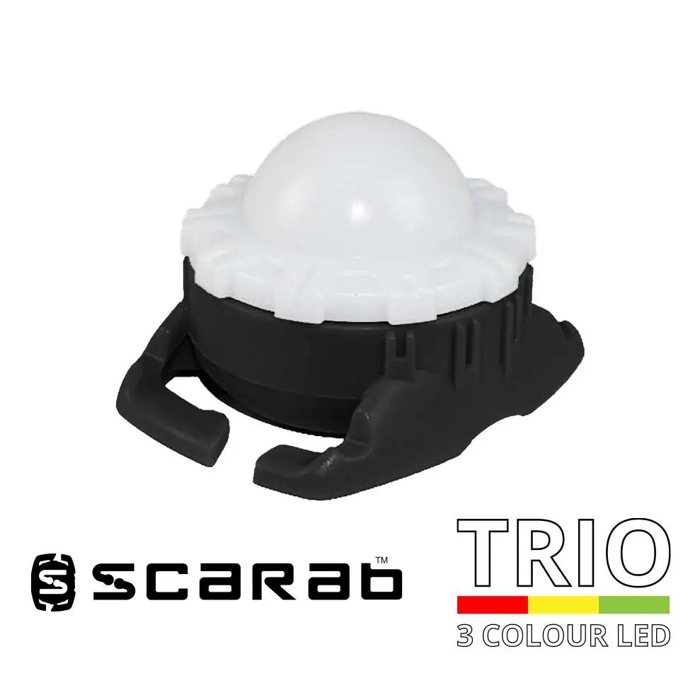 Scarab Beacon Trio Red Yellow Green LED