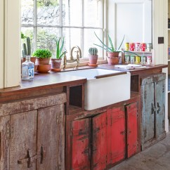 Buy Old Kitchen Cabinets Rectangular Table Vintage Style With Free Standing And Units Em14