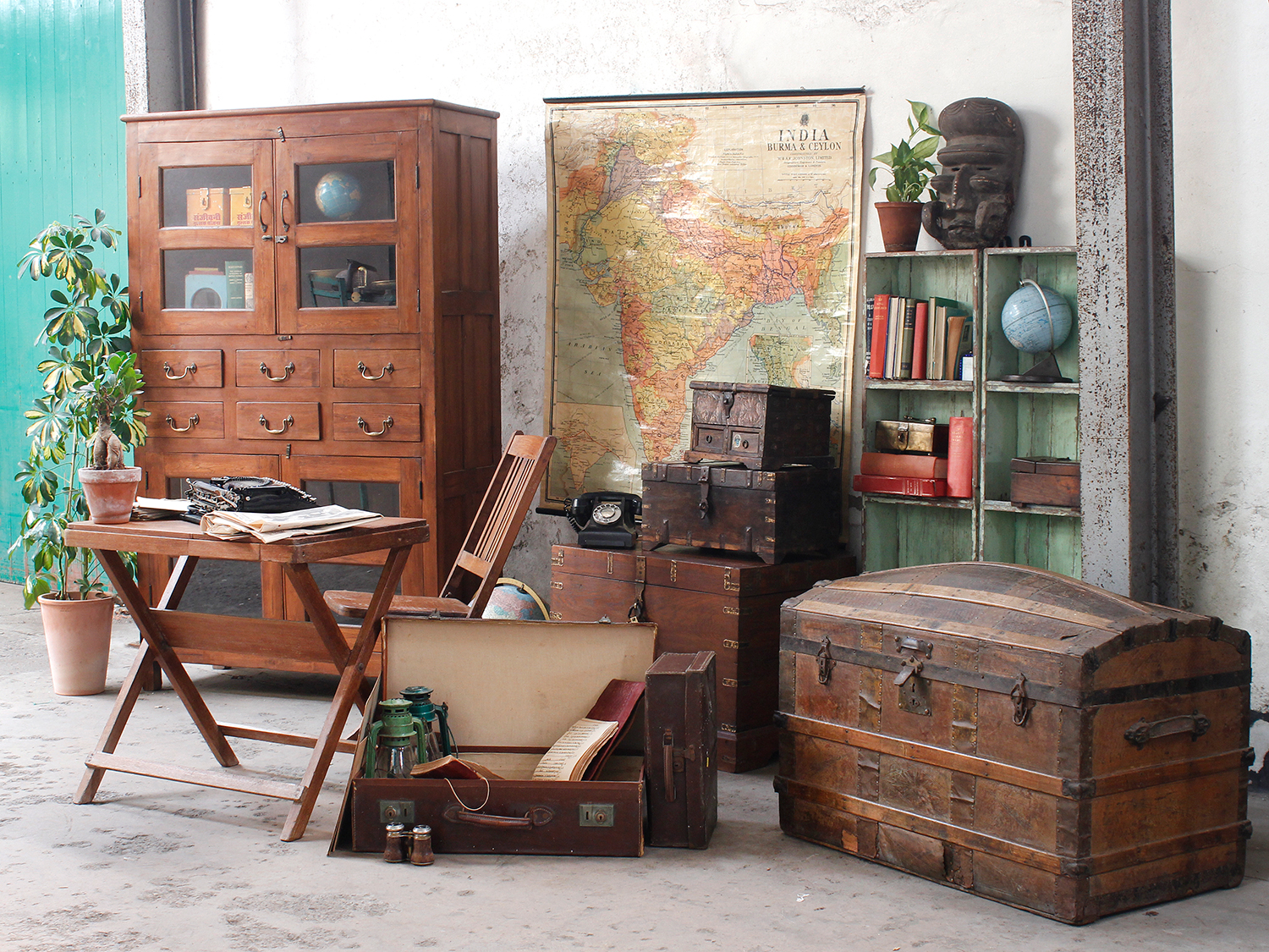 georgia chair company wooden office no wheels another starring role scaramanga vintage trunks in