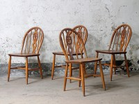 Vintage Ercol Dining Chairs - Sold - Scaramanga