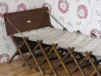 Military Campaign Bed / Antique Military Campaign Bed ...