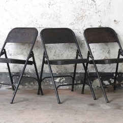 Metal Folding Chairs Wholesale Black Chair Covers Party City Vintage For The Home Scaramanga