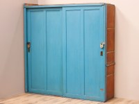 Blue Storage Cupboard