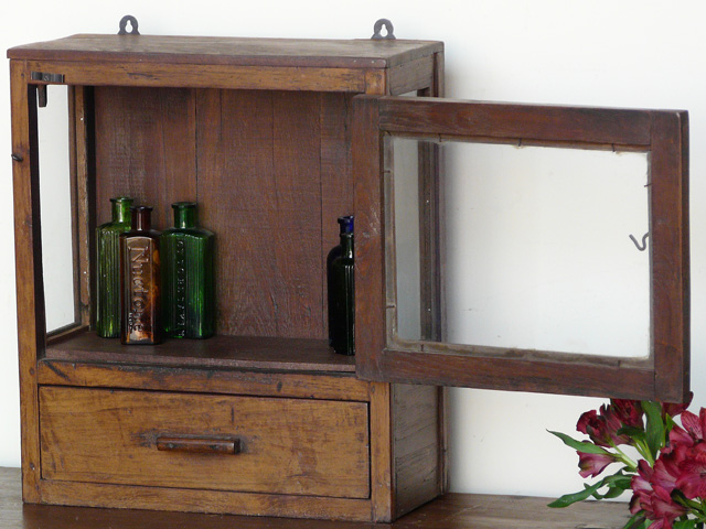 vintage bathroom cabinet 608 - sold - scaramanga
