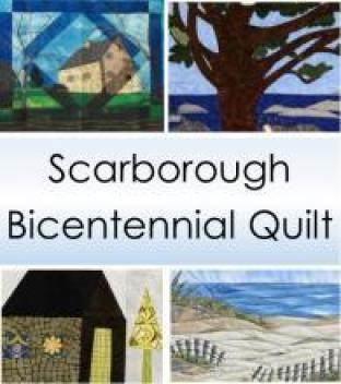 Images from the Scarborough Bicentennial Quilt