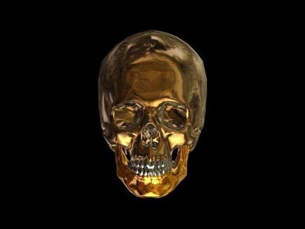 Crown Hd Wallpaper Scare Zone S Golden Skulls 2013 Scare Zone