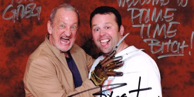 Robert Englund Signed Pic