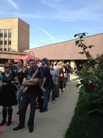 The Line To Get Tickets