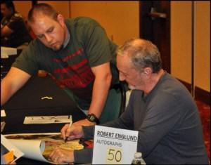 Robert Englund Signing