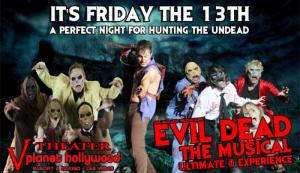 Evil Dead Friday The 13th