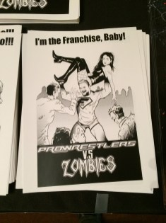 Pro Wrestlers Vs. Zombies Franchise Print
