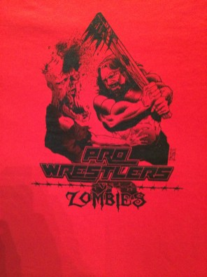 Pro Wrestlers Vs. Zombies - Hacksaw T-Shirt