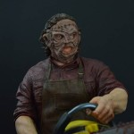 Revved Up New Texas Chainsaw Massace 1:4 Scale Figure
